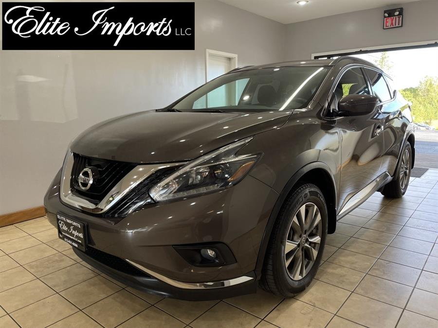 Used Nissan Murano SV AWD 4dr SUV 2018   Elite Imports LLC. West Chester, Ohio
