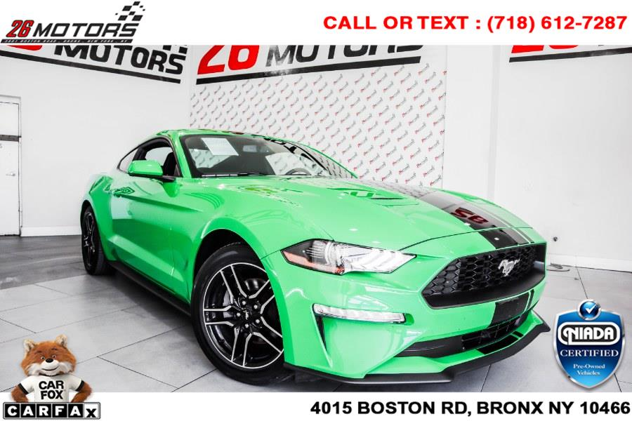 Used Ford Mustang EcoBoost Premium Fastback 2019 | 26 Motors Corp. Bronx, New York