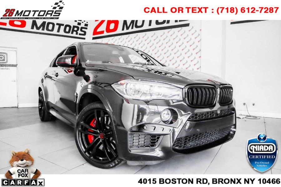 Used BMW X6 M AWD 4dr 2015 | 26 Motors Corp. Bronx, New York
