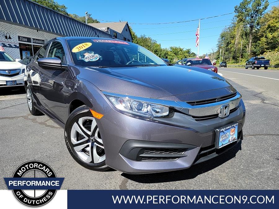Used 2018 Honda Civic Sedan in Wappingers Falls, New York | Performance Motorcars Inc. Wappingers Falls, New York