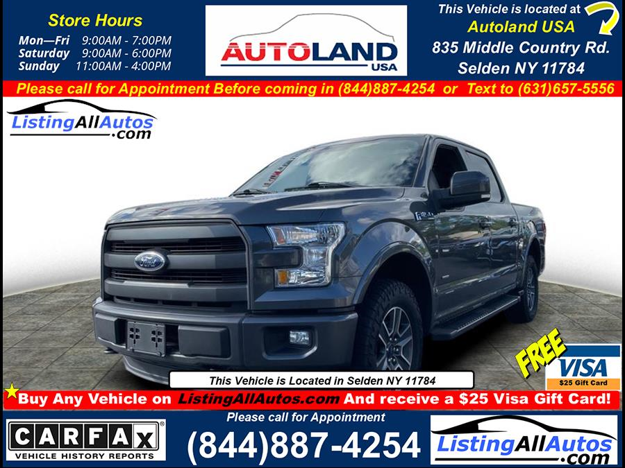 Used 2015 Ford F-150 in Patchogue, New York | www.ListingAllAutos.com. Patchogue, New York
