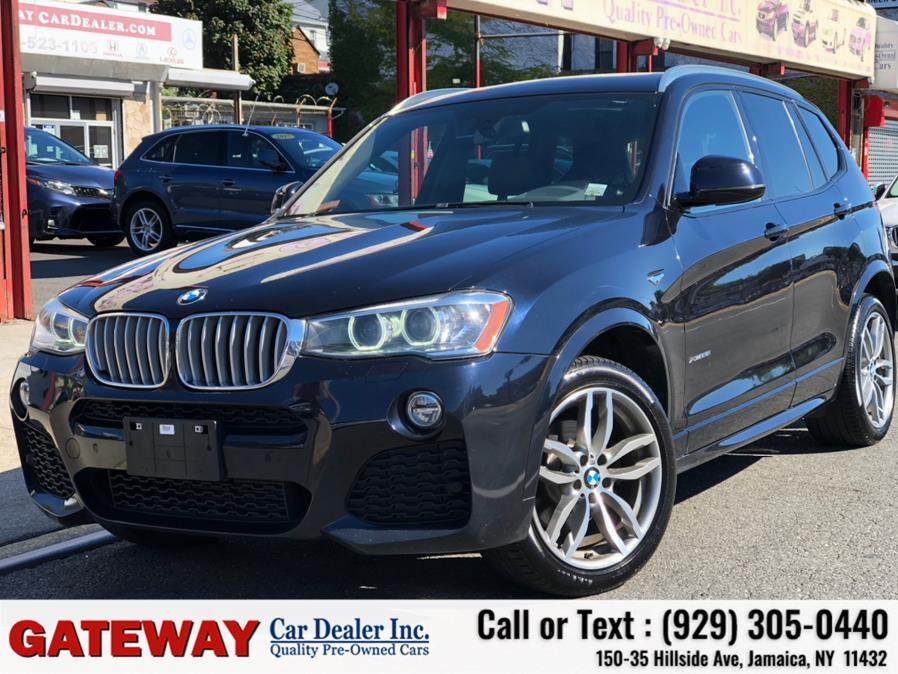 Used BMW X3 M Sport xDrive28i Sports Activity Vehicle 2017   Gateway Car Dealer Inc. Jamaica, New York