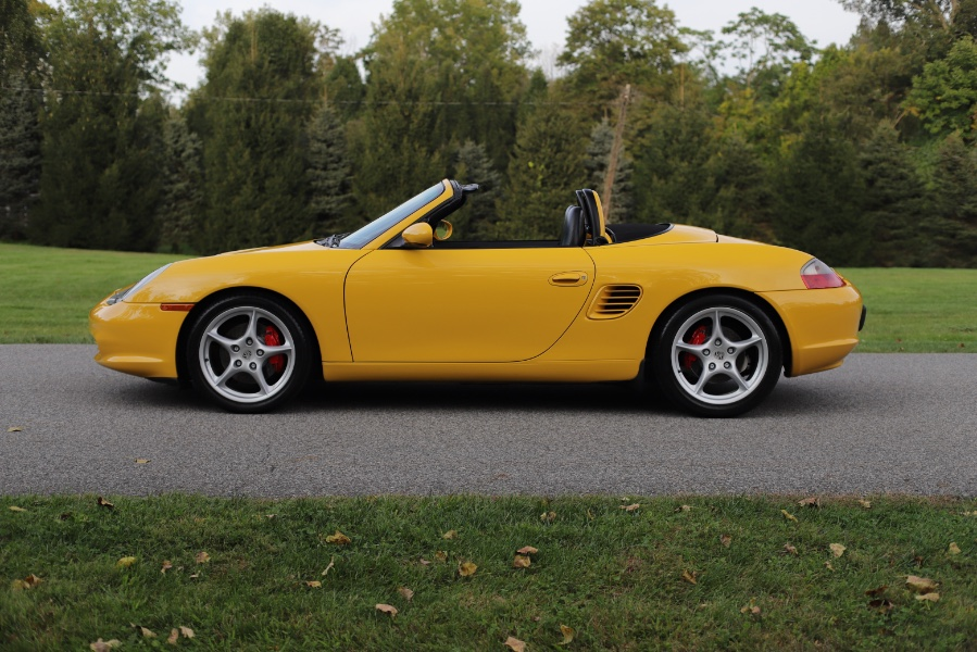 Used Porsche Boxster 2dr Roadster S 6-Spd Manual 2004   Meccanic Shop North Inc. North Salem, New York