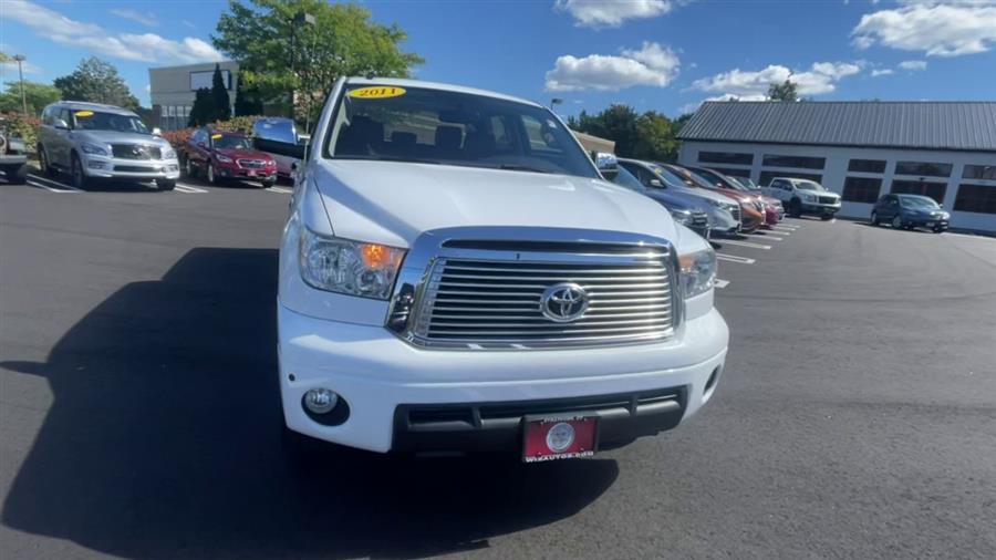 Used Toyota Tundra 4WD Truck CrewMax 5.7L FFV V8 6-Spd AT LTD (Natl) 2011 | Wiz Leasing Inc. Stratford, Connecticut