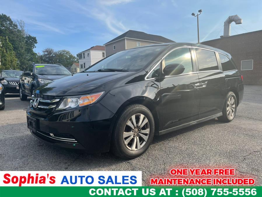 Used 2015 Honda Odyssey in Worcester, Massachusetts   Sophia's Auto Sales Inc. Worcester, Massachusetts