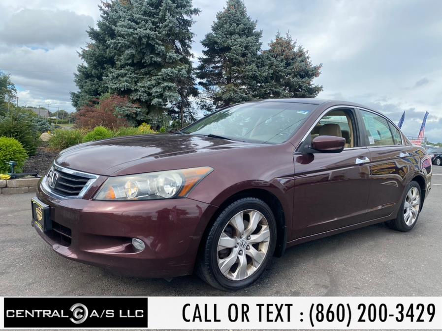 Used Honda Accord Sdn 4dr V6 Auto EX-L 2010 | Central A/S LLC. East Windsor, Connecticut