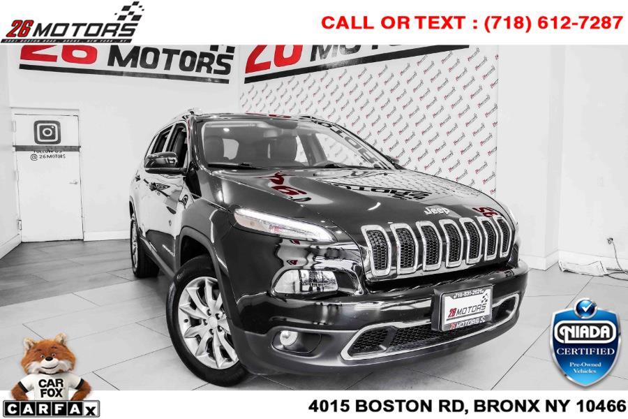 Used Jeep Cherokee Limited 4x4 2018 | 26 Motors Corp. Bronx, New York
