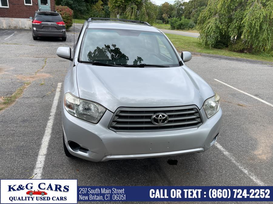 Used Toyota Highlander 4WD 4dr Base (Natl) 2008   K and G Cars . New Britain, Connecticut