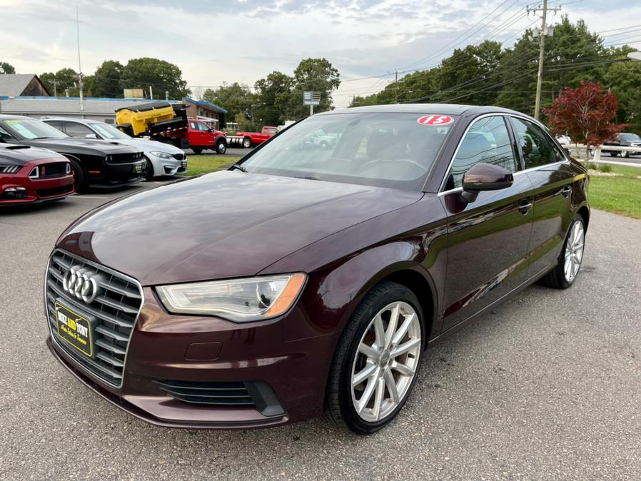 Used Audi A3 4dr Sdn quattro 2.0T Premium Plus 2015   Mike And Tony Auto Sales, Inc. South Windsor, Connecticut