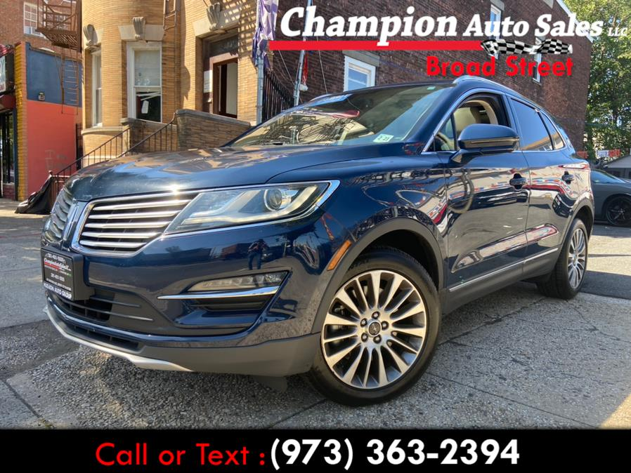 Used 2018 Lincoln MKC in Newark, New Jersey   Champion Used Auto Sales LLC. Newark, New Jersey