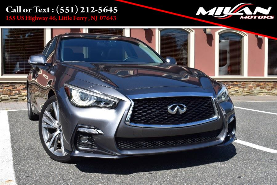 Used INFINITI Q50 3.0t SPORT RWD 2018 | Milan Motors. Little Ferry , New Jersey
