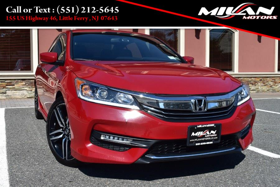 Used Honda Accord Sedan 4dr I4 CVT Sport 2016 | Milan Motors. Little Ferry , New Jersey
