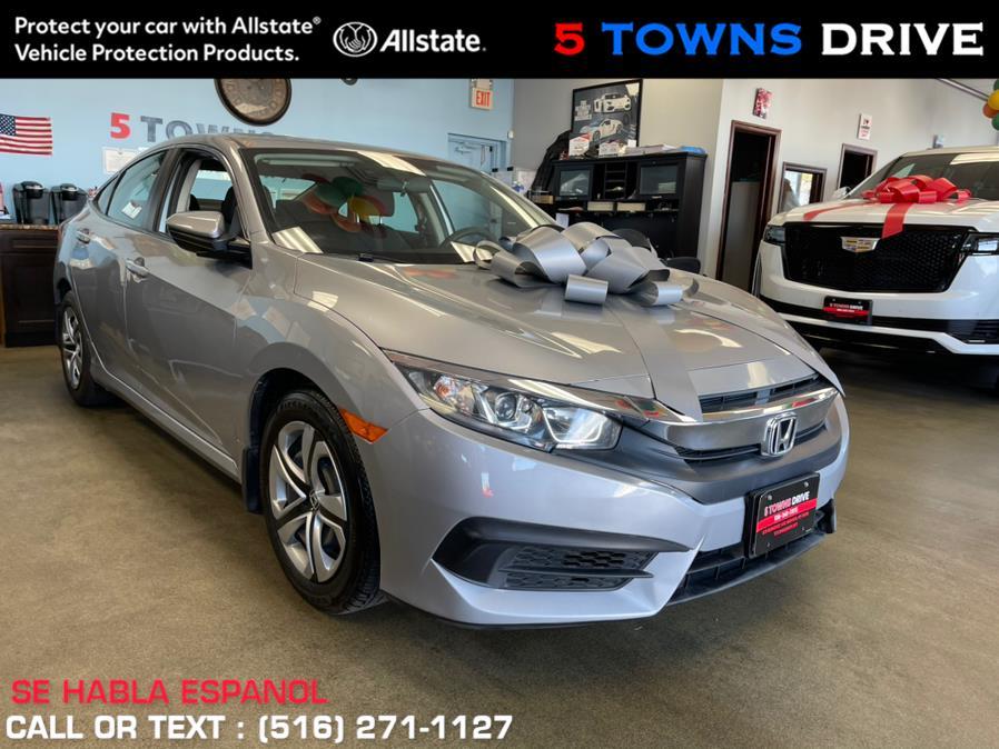 Used Honda Civic Sedan LX CVT 2018 | 5 Towns Drive. Inwood, New York