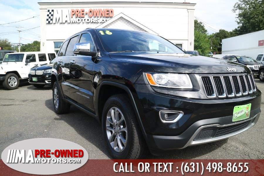 Used Jeep Grand Cherokee 4WD 4dr Limited 2016 | M & A Motors. Huntington, New York