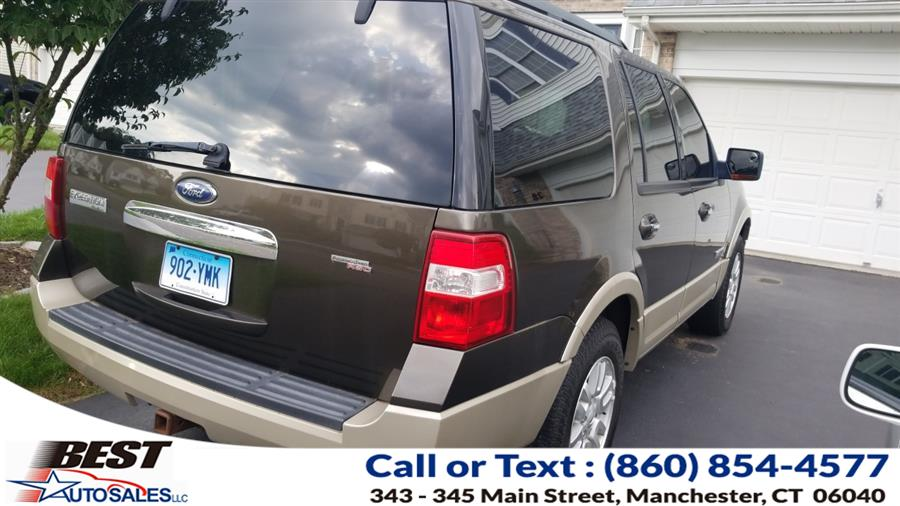 Used Ford Expedition 4WD 4dr Eddie Bauer 2008   Best Auto Sales LLC. Manchester, Connecticut