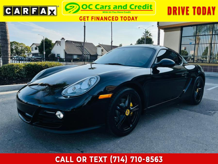 Used Porsche Cayman 2dr Cpe 2012 | OC Cars and Credit. Garden Grove, California