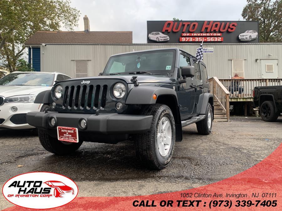 Used 2018 Jeep Wrangler JK Unlimited in Irvington , New Jersey | Auto Haus of Irvington Corp. Irvington , New Jersey