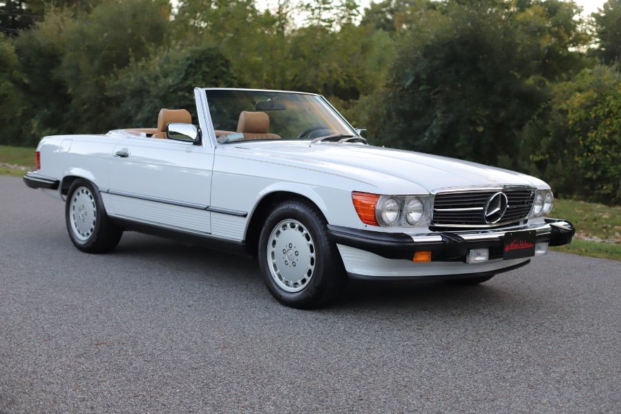 Used Mercedes-Benz 560 Series 2dr Coupe 560SL Roadster 1989   Meccanic Shop North Inc. North Salem, New York