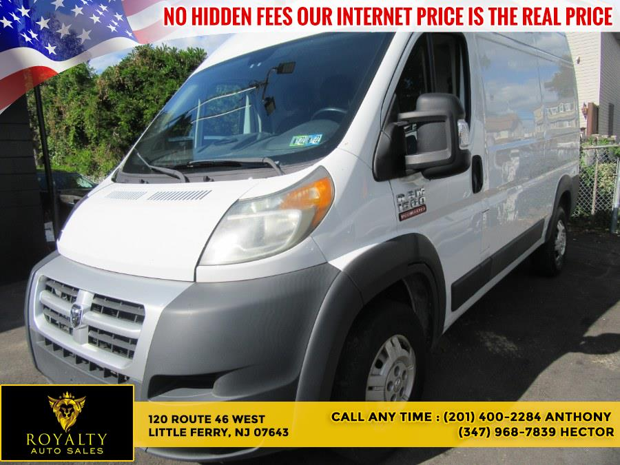 """Used Ram ProMaster Cargo Van 1500 High Roof 136"""" WB 2014 