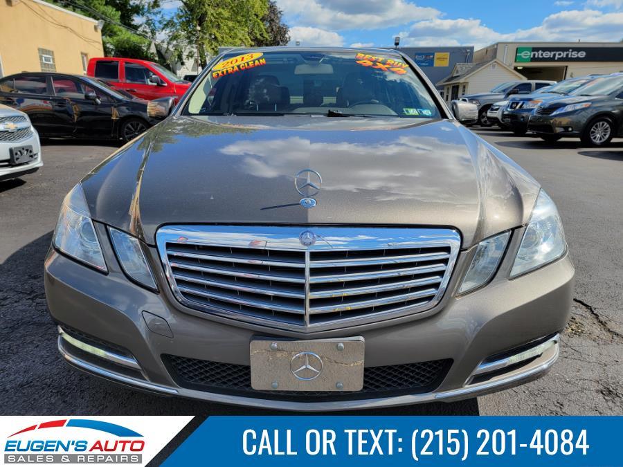 Used Mercedes-Benz E-Class 4dr Sdn E 350 Luxury 4MATIC *Ltd Avail* 2013 | Eugen's Auto Sales & Repairs. Philadelphia, Pennsylvania