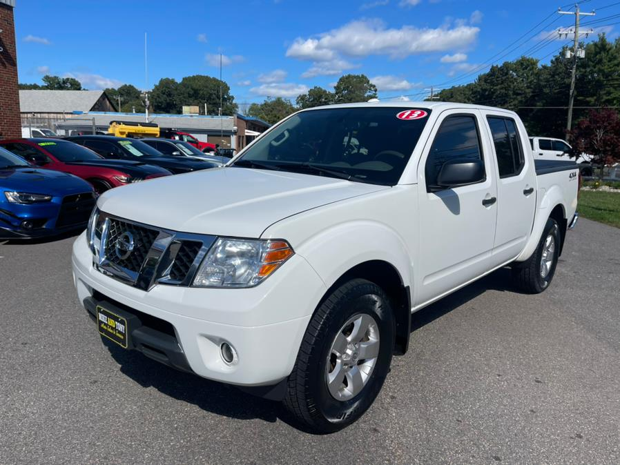 Used Nissan Frontier 4WD Crew Cab SWB Auto SV 2013 | Mike And Tony Auto Sales, Inc. South Windsor, Connecticut