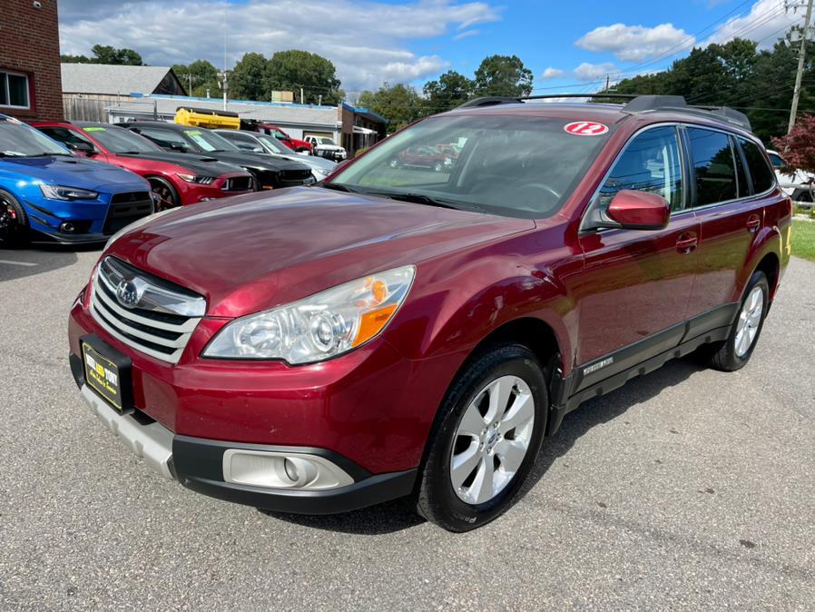 Used Subaru Outback 4dr Wgn H4 Auto 2.5i Limited 2012 | Mike And Tony Auto Sales, Inc. South Windsor, Connecticut