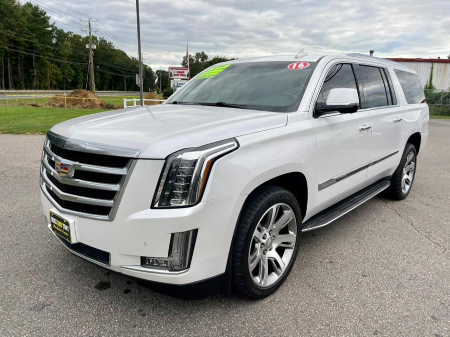 Used Cadillac Escalade ESV 4WD 4dr Luxury Collection 2016 | Mike And Tony Auto Sales, Inc. South Windsor, Connecticut