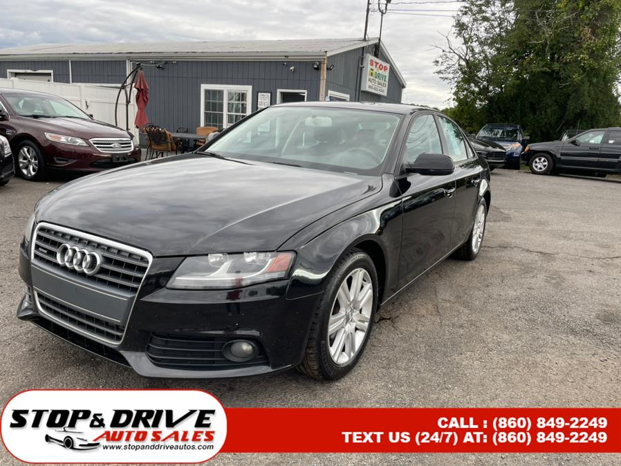 Used 2011 Audi A4 in East Windsor, Connecticut | Stop & Drive Auto Sales. East Windsor, Connecticut