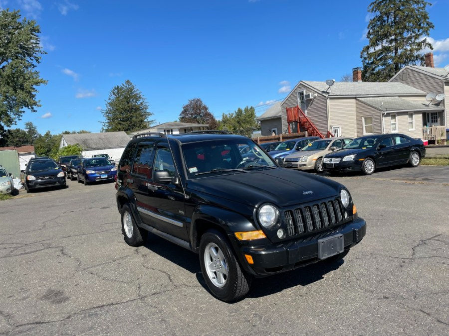 Used Jeep Liberty 4dr Sport 4WD 2006   CT Car Co LLC. East Windsor, Connecticut