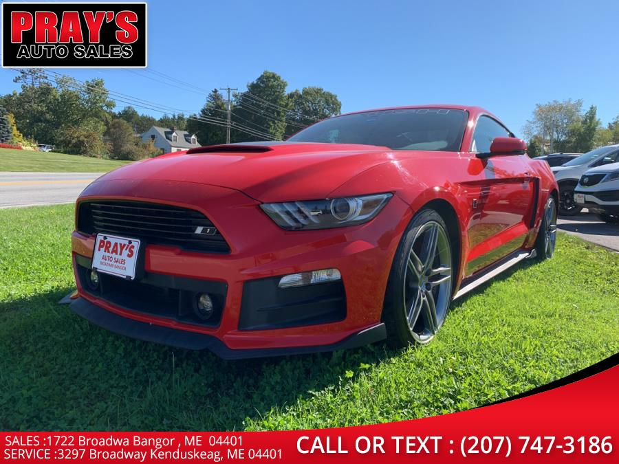 Used Ford Mustang 2dr Fastback EcoBoost Premium 2015   Pray's Auto Sales . Bangor , Maine