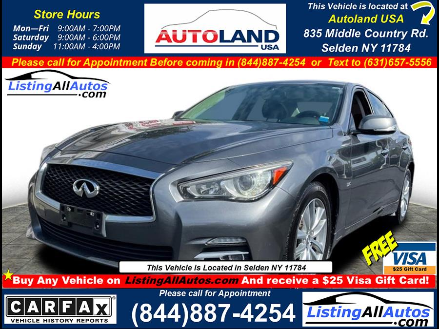 Used 2016 Infiniti Q50 in Patchogue, New York | www.ListingAllAutos.com. Patchogue, New York