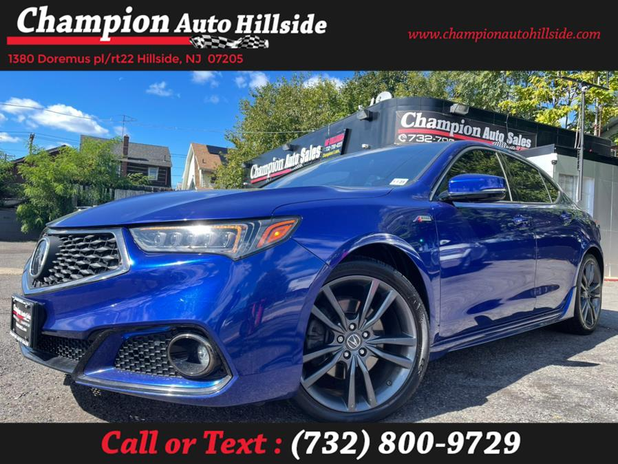 Used 2018 Acura TLX in Hillside, New Jersey | Champion Auto Hillside. Hillside, New Jersey