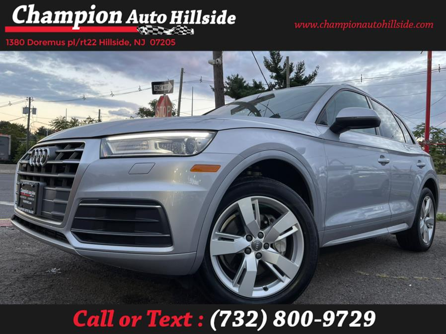Used 2018 Audi Q5 in Hillside, New Jersey | Champion Auto Hillside. Hillside, New Jersey