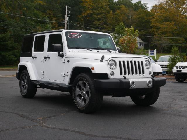 Used Jeep Wrangler Unlimited Sahara 2017 | Canton Auto Exchange. Canton, Connecticut