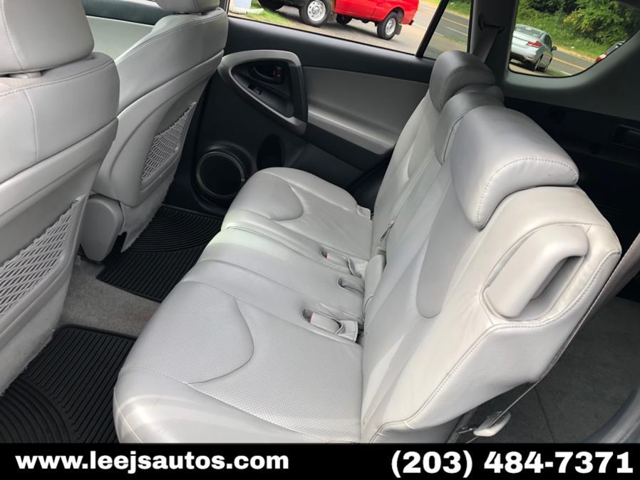 Used Toyota RAV4 4WD 4dr V6 5-Spd AT Ltd (Natl) 2008 | LeeJ's Auto Sales & Service. North Branford, Connecticut