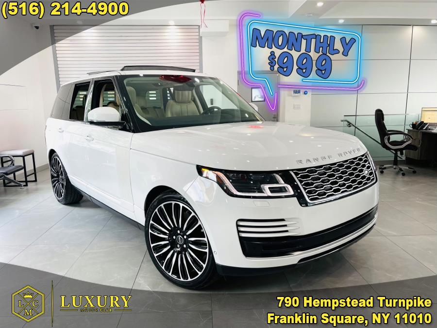 Used Land Rover Range Rover V6 Supercharged HSE SWB 2019   Luxury Motor Club. Franklin Square, New York
