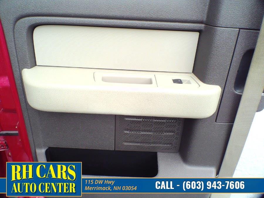 "Used Ford F-150 4WD SuperCab 145"" XLT 2010 | RH Cars LLC. Merrimack, New Hampshire"