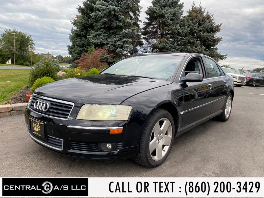 Used Audi A8 4dr Sdn 4.2L quattro Auto 2005 | Central A/S LLC. East Windsor, Connecticut