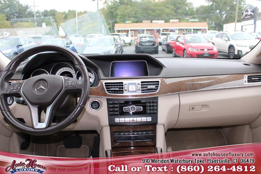Used Mercedes-Benz E-Class 4dr Sdn E 350 Sport 4MATIC 2014 | Auto House of Luxury. Plantsville, Connecticut