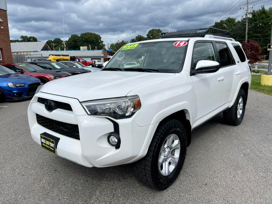 Used Toyota 4Runner 4WD 4dr V6 SR5 (Natl) 2014 | Mike And Tony Auto Sales, Inc. South Windsor, Connecticut