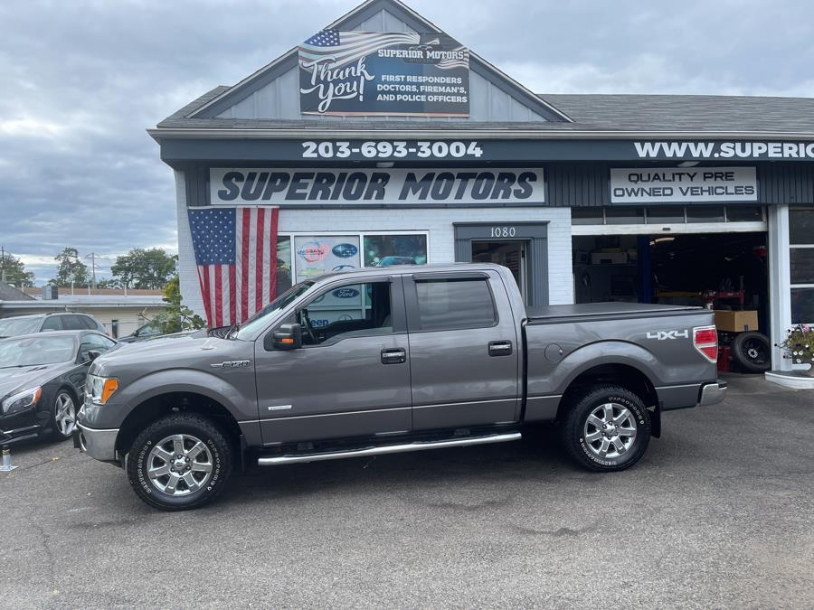 Used 2014 FORD F-150 SUPER CREW 4WD in Milford, Connecticut   Superior Motors LLC. Milford, Connecticut