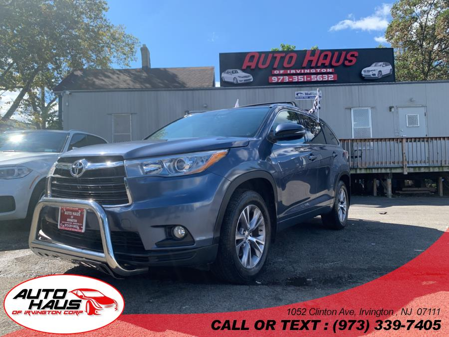 Used 2015 Toyota Highlander in Irvington , New Jersey   Auto Haus of Irvington Corp. Irvington , New Jersey