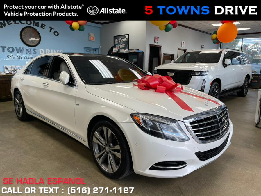 Used Mercedes-Benz S-Class 4dr Sdn S 550 RWD 2016   5 Towns Drive. Inwood, New York