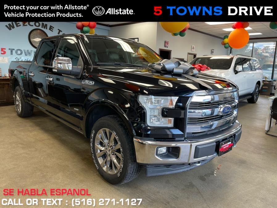 Used Ford F-150 Lariat 4WD SuperCrew 5.5'' Box 2017 | 5 Towns Drive. Inwood, New York