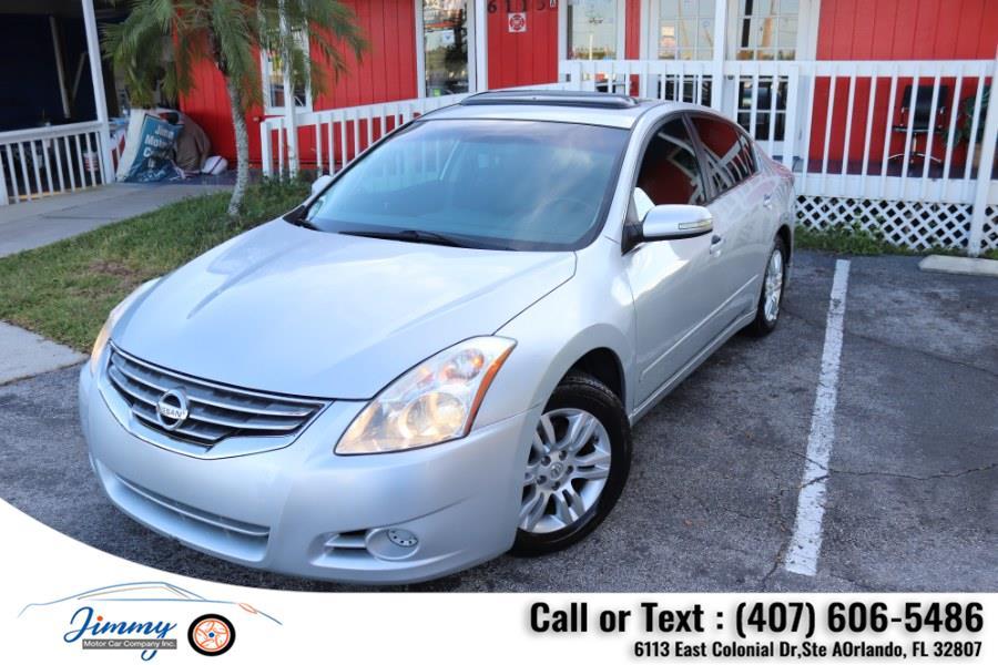 Used Nissan Altima 4dr Sdn I4 CVT 2.5 SL 2012 | Jimmy Motor Car Company Inc. Orlando, Florida