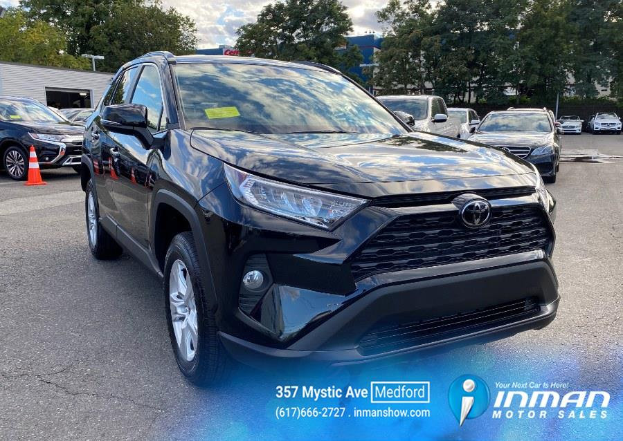 2021 Toyota RAV4 XLE FWD (Natl), available for sale in Medford, MA