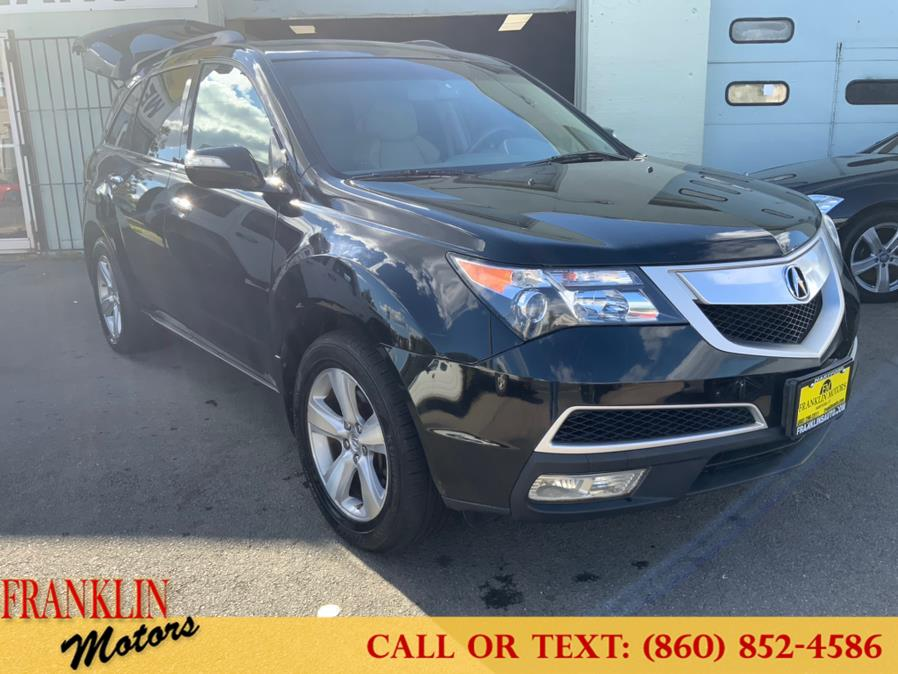 Used 2012 Acura MDX in Hartford, Connecticut   Franklin Motors Auto Sales LLC. Hartford, Connecticut
