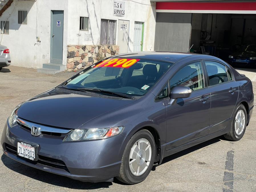 Used Honda Civic Hybrid 4dr Sdn w/Navi 2008 | Green Light Auto. Corona, California