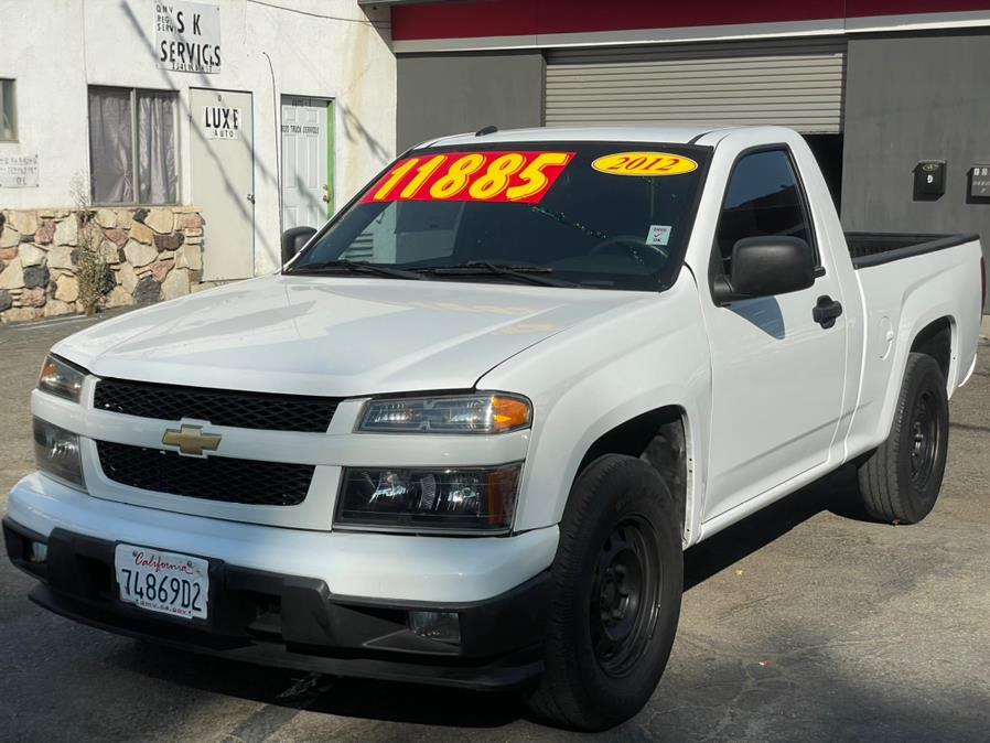 Used Chevrolet Colorado 2WD Reg Cab Work Truck 2012   Green Light Auto. Corona, California