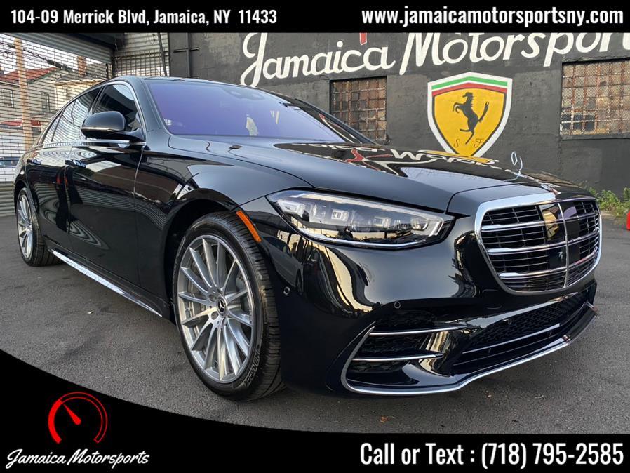 Used Mercedes-Benz S-Class S 580 4MATIC Sedan 2021 | Jamaica Motor Sports . Jamaica, New York